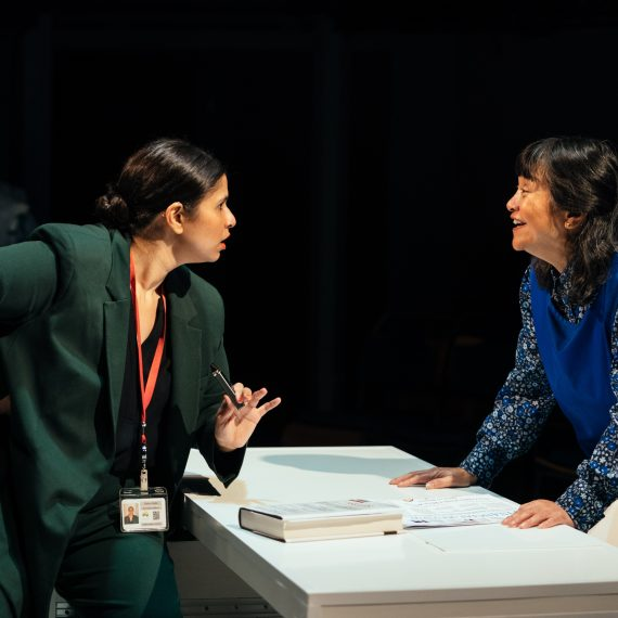RICE by Michele Lee ; Production ; Cast: Zainab Hasan & Sarah Lam ; Photo By Helen Murray